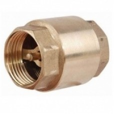 Клапан пружинный обратный муфтовый(с латунным золотником)