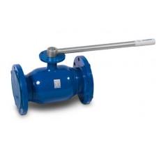 Кран шаровой стандартнопроходной фланцевый 283 Temper с фланцем для установки привода