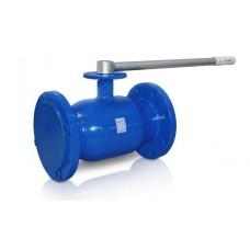 Кран шаровой стандартнопроходной 284 Temper с фланцем для установки привода
