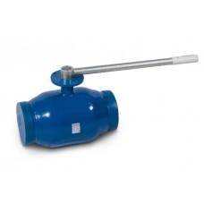 Кран шаровой полнопроходной под приварку 292 Temper с фланцем для установки привода