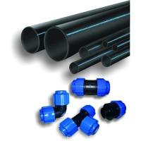 Трубы ПЭ для холодного водоснабжения и компрессионные фитинги
