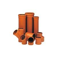 Трубы ПВХ для наружной канализации и фасонные части к ним