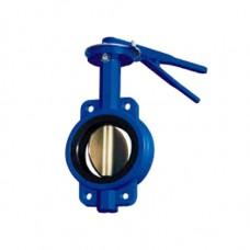 Затвор дисковый поворотный ручной 32ч1р (ЛМЗ)